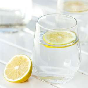 Why I drink lemon water