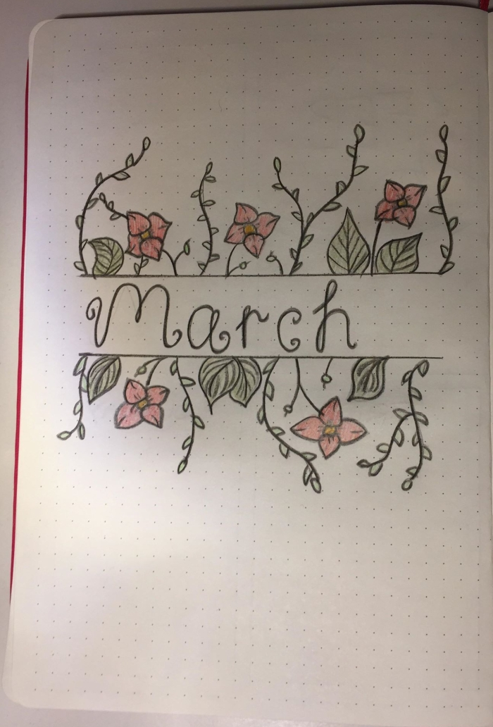 Bullet journal 2019 part 3