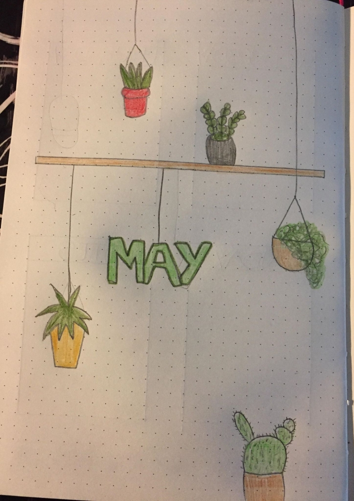 Bullet journal 2019 part 5