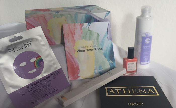 Wear your pride – Goodiebox review