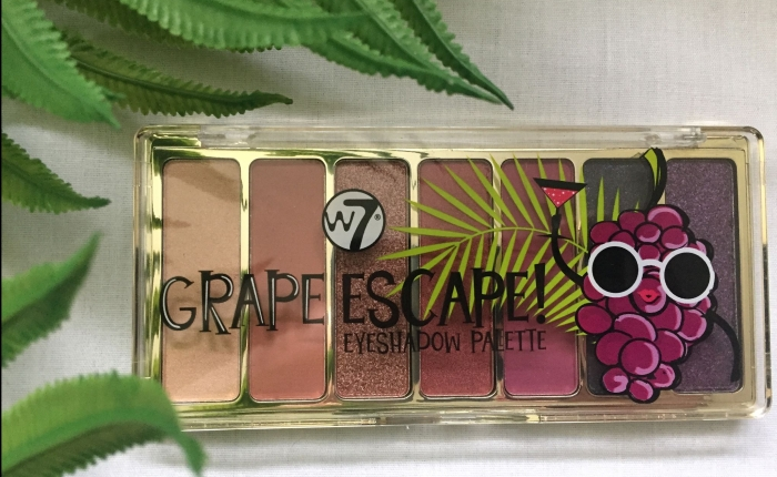 W7 Grape Escape Eyeshadow Palette Review
