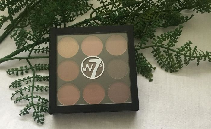 W7 The Naughty Nine – Mid Summer Nights – Eyeshadow Palette review